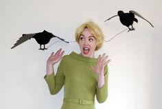 Halloween costume idea: Tippi Hedren in The Birds