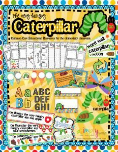 Very Hungry Caterpillar Common Core activities for the classroom. Enter to win this adorable kit for the classroom from simply sprout  3 lucky winners will be announced March 21st!