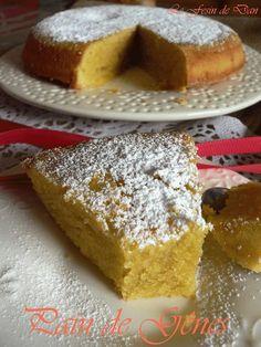 """Un délicieux gâteau, déjà dégusté il y a de nombreuses années, et oublié... Je remercie Samar de """"Mes inspirations culinaires""""..."""