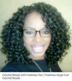 Freetress gogo curl Crochet braids