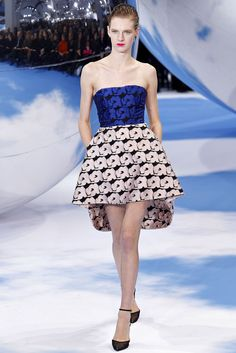 Christian Dior Fall 2013 Ready-to-Wear Fashion Show - Ashleigh Good