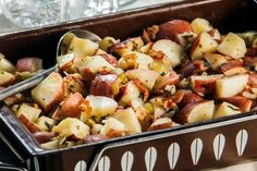 Our Thanksgiving Recipe for Michigan: Baked German Potato Salad