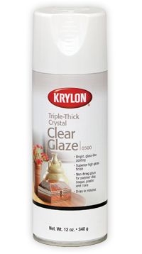 Triple-Thick Crystal Clear Glaze - a layer of this stuff will keep your costume jewelry looking brilliant & prevent it from turning.