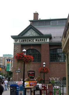 St Lawrence Market - Toronto home of my favourite spicy Portuguese chicken sandwich. Toronto Ontario Canada, Toronto City, Downtown Toronto, Visit Toronto, Ottawa, St Lawrence Market Toronto, Quebec City, Romantic Getaway, Honeymoon Destinations
