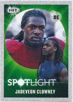 Jadeveon Clowney (Rookie) Houston Texans 2014 Sage Hit Spotlight Insert (Silver Parallel) card #145