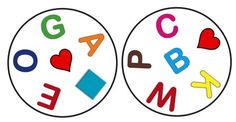 Dobble játékvariációk - Logopédia mindenkinek Educational Games, Learning Games, Abc Activities, English Games, Fun Games For Kids, Skills To Learn, Matching Games, Kids Cards, Teaching English