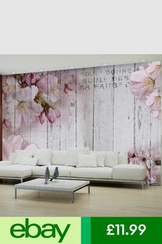Wallpaper Murals Home, Furniture & DIY Wallpaper Murals, Photo Wallpaper, Sofa, Couch, Weaving Art, Magnolia, Home Furniture, Living Room, Pink