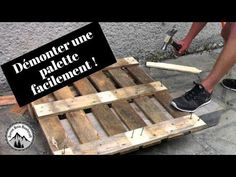 DIY : Fabriquer son carré potager en palette - So curiosity killed the cat Pallet Projects Christmas, Outdoor Pallet Projects, Pallet Ideas, Pallet Bar, Outdoor Cafe, Cool Woodworking Projects, Diy Bar, Wooden Pallets, Diy Home Decor