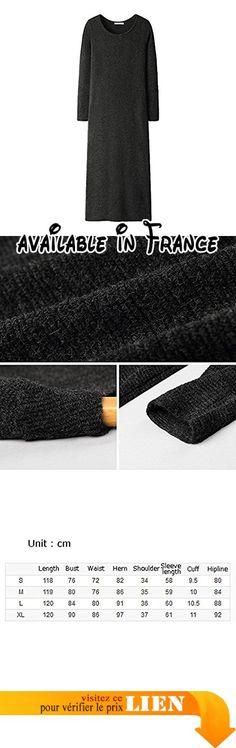 B0785WDBT3 : Automne hiver pull chemisier à manches longues des femmes Slim robe en tricot de couleur unie ( Couleur : B  taille : S ). Note: S'il vous plaît vérifier les détails de la description du produit en détail s'il vous plaît acheter le cas échéant!. Chemisier. Excellente qualité. Fibre de polyacrylonitrile 867% fibre de polyamide 133%. Manche longue #Kitchen #HOME