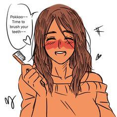 Attack On Titan Ships, Attack On Titan Fanart, Robin Superhero, Ymir, Digital Art Girl, Sakura Haruno, Funny Art, Animal Drawings, Webtoon