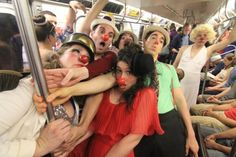 The Brick Theatre presents The NY Clown Theatre Festival (2012) #nysubwayclowncar