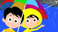 Can you hear the thunder roaring outside your houses? In our nursery land its raining. Watch this full video and enjoy this song with us. Baby Songs, Kids Songs, Going To Rain, Rhymes For Kids, Kids Tv, Nursery Rhymes, Thunder, Fun Things, Parenting