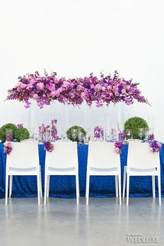 WedLuxe– Radiant Orchid    Follow @WedLuxe for more wedding inspiration!