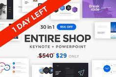 ENTIRE SHOP BUNDLE - 95% OFF by Entersge on @creativemarket