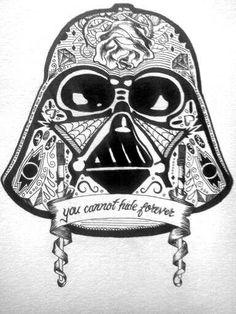 Star wars sugar skull, love this!