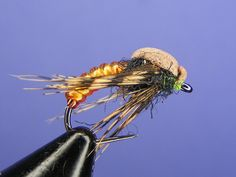 Amber Caddisfly Pupa - How to tie fly, Fly tying Step by Step Patterns & Tutorials