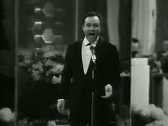 """Eurovision Song Contest 1967 - Claudio Villa - """"Non andare più lontano"""" - Italy - 4 points - 11th place"""
