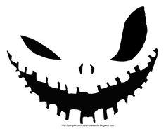 Halloween Pumpkin Stencils To Print | PUMPKIN CARVING TEMPLATE STENCIL