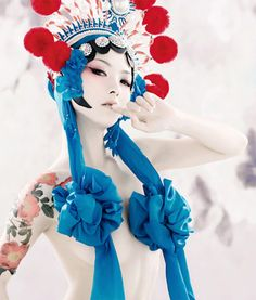 I love the modern take on Chinese Opera   Pretty Venus by Tony Zhou