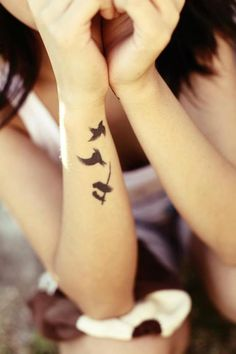 wrist tattoo | Tumblr Love placement of this