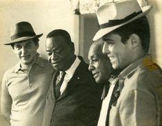 Tom Jobim, Pixinguinha, João da Baiana e Chico Buarque.