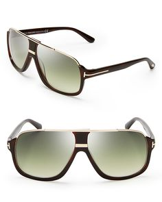 78e7d3a320bb7 TOM FORD - Elliot Square Sunglasses – Dark Havana