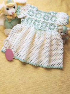 Granny yoke baby dress
