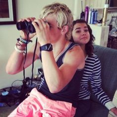 "Pics: Ross Lynch And Maia Mitchell Worked On ""Teen Beach Movie"" Promos June 8, 2013"