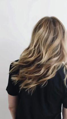 Brown Hair Balayage, Dark Blonde Hair, Long Hair Cuts, Wavy Hair, Long Hair Styles, Hair Color And Cut, Light Brown Hair, Beach Hair, Hair Lengths