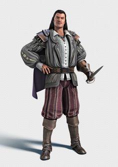 Assassin's Creed: Brotherhood - Character Render 03