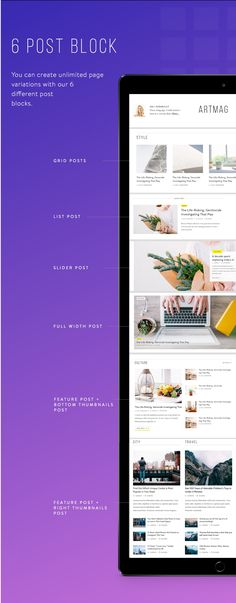All Features    Fully Responsive Design  Modern and functional design  5 pre-build Home Page Design  7 Post block          ...