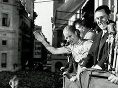Evita Perón y Juan Domingo Perón