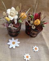 Decoratiuni florale - EcoVintage by Aura Store, Floral, Food, Storage, Florals, Eten, Business, Flower, Meals