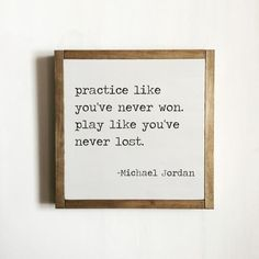 Sport quote sports decor michael jordan quote kids by freestylemom kids spo Boy Quotes, Sport Quotes, Quotes For Kids, Sign Quotes, Quotes To Live By, Motivational Quotes, Inspirational Quotes, Funny Quotes, The Words