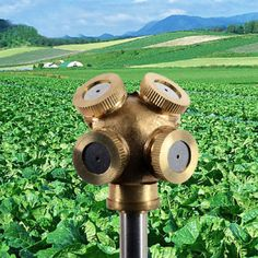 4 NozzleS Spray Misting Garden Grass Lawn Water Sprinklers Irrigation Fitting