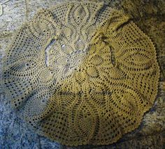 Pérolas do Crochet: Colete de croche circular com gráfico