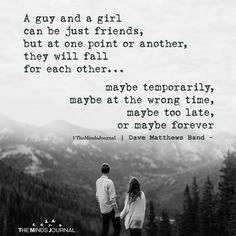 A Guy And A Girl Can Be Just Friends themindsjournal.c… Source by themindsjournal The post A Guy And A Girl Can Be Just Friends Love Quotes appeared first on Quotes Pin. Bestfriend Quotes For Girls, Best Friend Quotes For Guys, Love You Best Friend, That One Friend, Forever Friends Quotes, Good Man Quotes, Just Love, Love Story Quotes, Mood Quotes