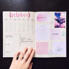 "ohlookimstudying: "" [ 29th September 2016 ] hello hello!! Here are my bullet journal spreads for September + a monthly for October! I've been crazy busy revising for IG's next month and all i want to..."