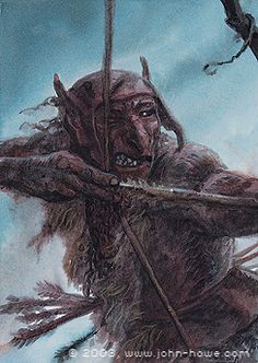 Snaga was a contemptuous term for the lesser Orcs of Mordor and Isengard, used especially among the larger and stronger Uruk-hai. It comes from a word in the Black Speech meaning 'slave' or 'servant'.