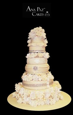 Haute Couture Wedding Cakes | ... Cakes - Baker to the Stars as Quoted by The Miami Herald Ana Paz Cakes