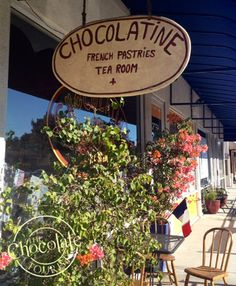 Chocolatine Cafe & Tea Room - a charming French cafe with plenty of fresh pastry and chocolate offerings. Try the rich hot chocolate, handmade truffles, or macarons. Read more on The Chocolate Tourist blog!