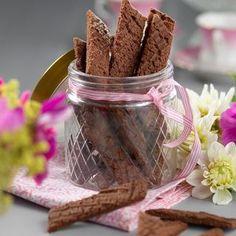 Chokladsnitt med sirap