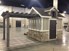 Shed Plans - Id like a storage shed, with a separate covered area for outdoor dining. Id add a porch to go with it. Utah Storage Sheds -This is so cute. - Now You Can Build ANY Shed In A Weekend Even If You've Zero Woodworking Experience! 8x12 Shed Plans, Wood Shed Plans, Diy Shed Plans, Small Shed Plans, Barn Plans, Pool Shed, Backyard Sheds, Outdoor Sheds, Garden Sheds