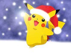"""Il Nuovo """"Pokemon Go"""" include un'edizione limitata di Pikachu, Santa Claus! Pikachu Pikachu, Image Pikachu, Pichu Pokemon, Pokemon Comics, Pokemon Fan, Christmas Pokemon, Merry Christmas, Pikachu Drawing, Wallpaper Gallery"""