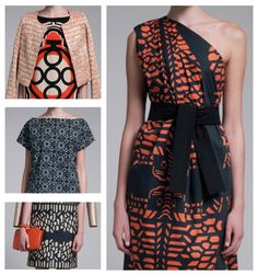 hunt+gather: vivienne tam  prints from the 2013 resort collection