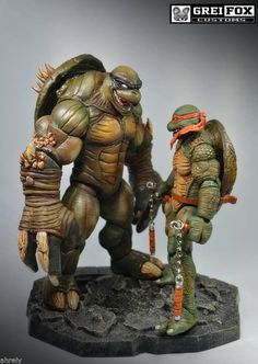 Action figure resource with checklists, galleries, customs, tutorials, and a friendly community for collecting modern or vintage action figures and customizing your own figures. Cartoon Movie Characters, Cartoon Gifs, Ninja Turtles Art, Teenage Mutant Ninja Turtles, Marvel, Punisher, Statues, Usagi Yojimbo, Toy Story Figures