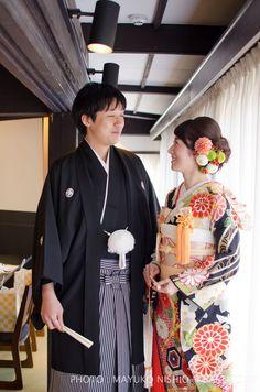 結婚式の参考に Japanese Costume, Japanese Kimono, Japanese Style, Kabuki Costume, Wedding Kimono, Japanese Wedding, Traditional Wedding Dresses, Japanese Outfits, Yukata