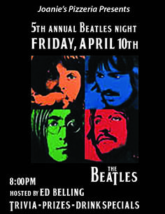 5th Annual Beatles Night