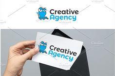 Squid Creative Agency Logo by REDVY on @creativemarket