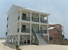Romar House at Beachside Orange Beach Vacation House Rental | Meyer Vacation Rentals